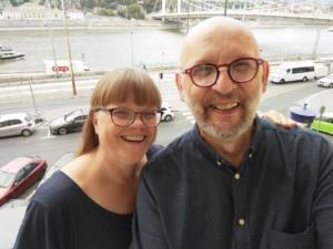 Jarmo ja Pirjo Sormunen vierailevat @ Risteyspaikka-srk:n tilat