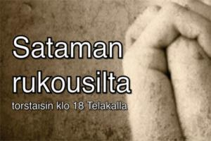 Sataman Rukousilta @ Telakka